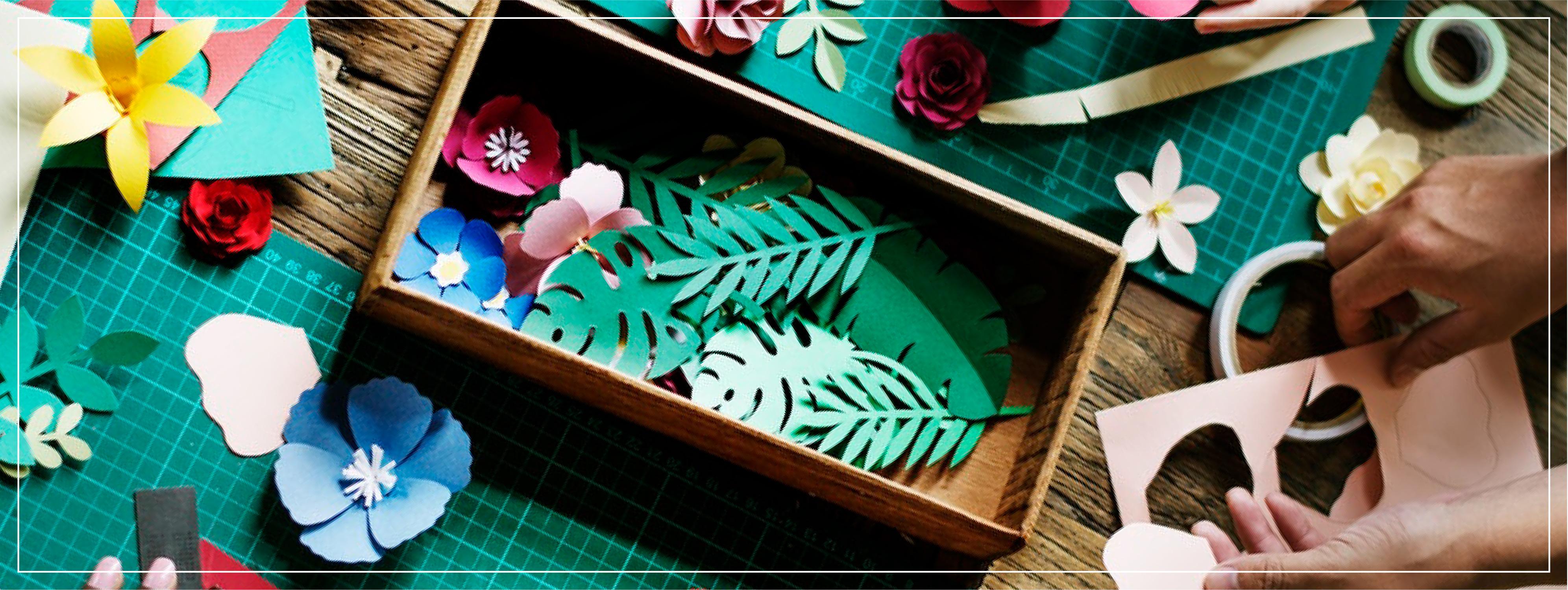 Boîtes de rangement pour artisanat